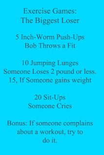 Workout while watching Biggest Loser.  Duh!  It just makes sense.