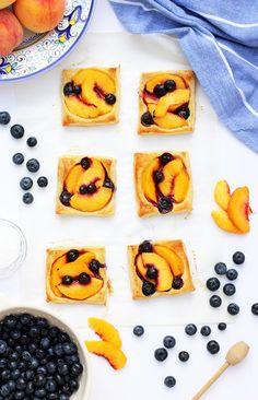 Mini Peach Tart
