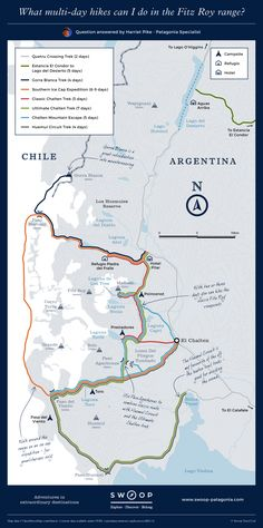 36 Best Patagonia Maps images