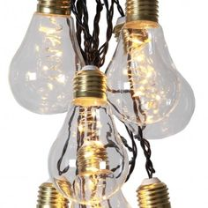 Ljusslinga Bulb klarglas
