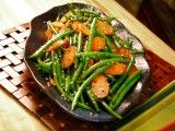 Cooking Channel serves up this Ginger, Carrot and Sesame Green Beans recipe from Ching-He Huang plus many other recipes at CookingChannelTV.com