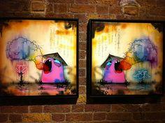 Megan and the Beasts of Kaimei Exhibition - Tom Lewis Cool Artwork, Beast, Graffiti, Street Art, Toms, Pencil, Paintings, Illustration, Artist