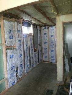 Insulation and sound dampening in