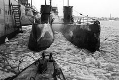 U-Boats ~ U-96 in frozen port ~ The boat - The photographs of Lothar-Günther Buchheim ~ BFD