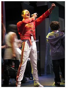 Madame Tussauds, wax Figure Of Freddy Mercury. Freddie Mercury Statue, Famous Celebrities, Celebs, Holiday In Singapore, Christo And Jeanne Claude, Wax Museum, Greatest Rock Bands, Madame Tussauds, Artists