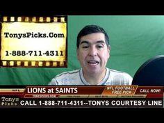 Detroit Lions vs. New Orleans Saints Pick Prediction NFL Pro Football Od...