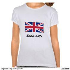 England Flag T-shirts