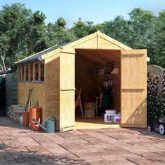0 wooden shedsmasters - Garden Sheds 8 X 4
