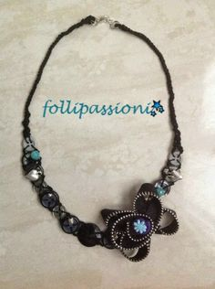 "Folli Passioni: Collana ""Button Flowers"""