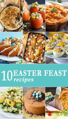 10 EASTER RECIPES to make sure you have the best Easter feast ever! Easy recipes perfect for the Easter holiday! via @beckygallhardin