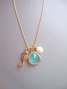Under The Sea. 14K Gold-Filled Chain Necklace