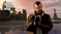 Grand Theft Auto IV is a 2008 action-adventure game developed by Rockstar North and published by Rockstar Games. It is the eleventh title in the Grand Theft Auto series, and the first main entry since Grand Theft Auto: San Andreas. Xbox 360, Playstation, Gta V Ps4, Gta 4, Grand Theft Auto Games, Grand Theft Auto Series, Cyberpunk 2020, The Elder Scrolls, San Andreas