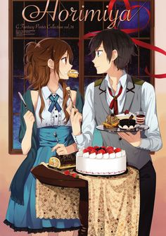 Those bakery sweets look so delicious! #Horimiya