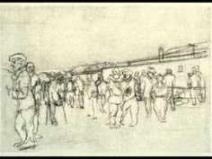 Drawings of Buchenwald by Boris Taslkitzky accompanied by piano music by Eitan Altman Perfect Triangles, Piano Music, Drawings, Youtube, Sketches, Drawing, Portrait, Youtubers, Draw