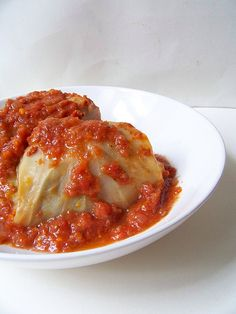 stuffed cabbage - I have had these once close to 15 yrs ago. Since starting new chemo treatment I have thought of and craved these. Not had energy or nerve to make yet! I will eventually. Entree Recipes, Beef Recipes, Dinner Recipes, Cooking Recipes, Healthy Recipes, Cabbage Recipes, Hungarian Cuisine, Hungarian Recipes, Pork
