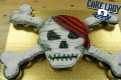 Pirate Adventure Cake