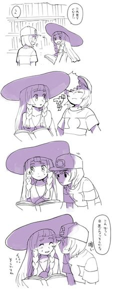 Pokemon Sun and Moon - Sun and Lillie Pokemon Comics, Pokemon Alola, Pokemon Pocket, Pikachu, Pokemon People, Pokemon Ships, Pokemon Fan Art, Pokemon Special, Fanart
