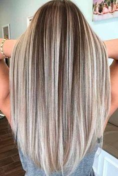 Nouvelle Tendance Coiffures Pour Femme 2017 / 2018 20 Charmantes et chics options pour les cheveux bruns avec des points forts Nous avons compilé un