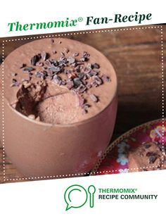 Recipe Vegan Chocolate Mousse by Jackischuback, learn to make this recipe easily in your kitchen machine and discover other Thermomix recipes in Desserts & sweets. Sweets Recipes, Fish Recipes, Whole Food Recipes, Vegan Recipes, Vegan Meals, Vegan Food, Desserts, Cake Ingredients, Thermomix