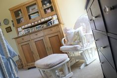 #vintage furniture in girls nursery #decoratingideas