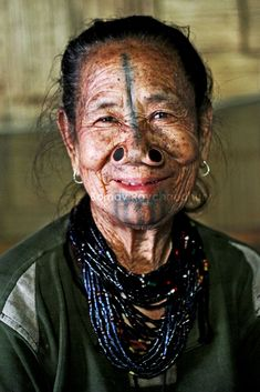 Apatani woman, Ziro, Arunachal Pradesh, India Copyright: Bornav Raychaudhury