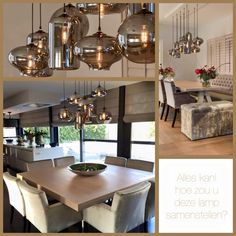 Eve bulbs advertising by Ambiance Light Up, Dining Table, Bulb, Ceiling Lights, Living Room, Interior Design, Architecture, Wood, Kitchens