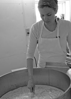 crooked face creamery | amy making cheese Making Cheese, How To Make Cheese, Crooked Face, Cow Cakes, Group Meals, No Cook Meals, Amy, Heavenly, Recipes