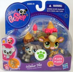 2010 Littlest Pet Shop Collector JACK RUSSELL Puppy Dog & Cow 1832 1833 Low Shp #HasbroLittlestPetShop Jack Russell Puppies, Little Pet Shop, Lucky Girl, Birthday Wishlist, Cards For Friends, Lps, Dogs And Puppies, Childhood, Kitty