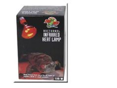 Zoo Med Nocturnal Infrared Incandescent Heat Lamp 150 Watts