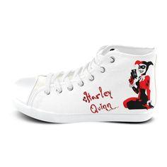 eda8d9fa27ec High Top Canvas Women s Shoes HQ - Flash SALE - 59.99  wonderwoman   wonderwomanlovers Joker