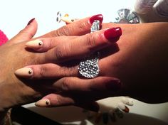 Me and my Moms nails!