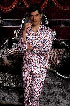 BN m/&s 2 partie ensemble en pur coton homme pyjama taille L
