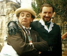 "Doctor Who. ""Survival"" (1989). The Doctor (Sylvester McCoy). The Master (Anthony Ainley)."