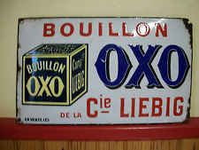 plaque emaille oxo