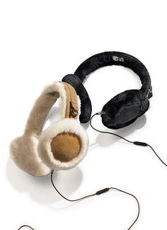 So comfy: Tech earmuffs by UGGs.