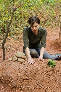 The Walking Dead: Lauren Cohan on Maggie's big moment   EW.com