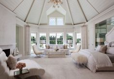 50 bedroom design ideas for a quiet master bedroom - Schlafzimmer Design 2018 - Bedding Master Bedroom Dream Rooms, Dream Bedroom, Home Bedroom, Bedroom Decor, Master Bedrooms, Bedroom Ceiling, Bedroom Ideas, Luxury Master Bedroom, Bedroom Furniture