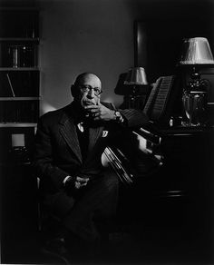 Yousuf Karsh: Igor Stravinsky, 1952