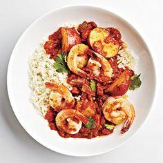 Shrimp Vindaloo | CookingLight.com #myplate #protein #grain #vegetables