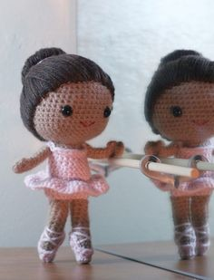This doll reminds me of Maia. The pattern for this was created by Owlishly.