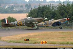 "Royal Air Force ""Battle of Britain Memorial Flight"" LF363 letadla na Edinburgh fotografii"