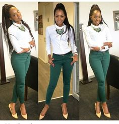 Corporate attire for Women casual outfit ideas, fashion trends. Business Professional Outfits, Business Outfits, Office Outfits, Chic Outfits, Fashion Outfits, Business Chic, Woman Outfits, Office Attire, Office Wear