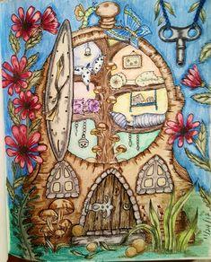 Klara Markova coloring book. Kim Rinehart colorist