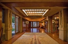 Image result for hollyhock house interior