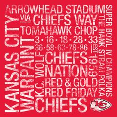 1000 images about chiefs on pinterest kansas city for Craft stores in kansas city