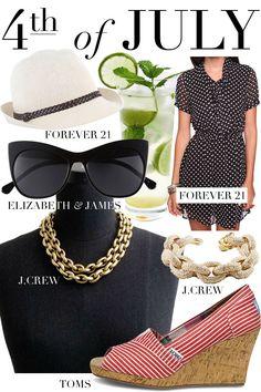 4th of July & Patriotic Fashion