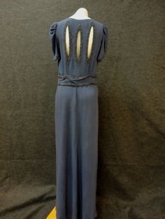 30s Dress // 1930s Evening Dress // Vintage by RobinandWrenVintage, $495.00