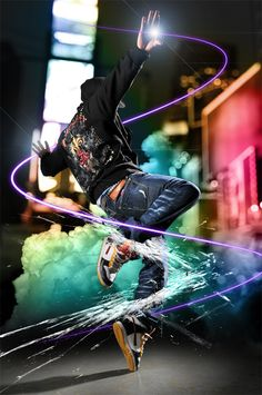 Photoshop photo manipulation tutorials which are easiest way to learn to make the most exciting photo effects. Photoshop tutorials writers which give excellent Just Dance, Baile Hip Hop, Urban Outfit, Photo Manipulation Tutorial, Mode Hip Hop, Digital Foto, Poses Photo, Photoshop Photos, Adobe Photoshop