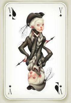 Lunacy - Lostfish artworks for the 'Faites vos jeux'...