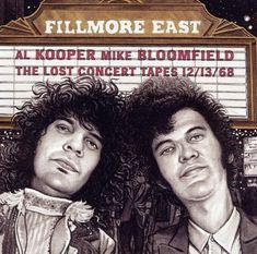 Al Kooper & Mike Bloomfield - Fillmore East The Lost Concert Tapes 12 CD for sale online Al Kooper, Heart Concert, Mike Bloomfield, Fillmore East, Rock Album Covers, Blues, Feelin Groovy, Season Of The Witch, Best Rock